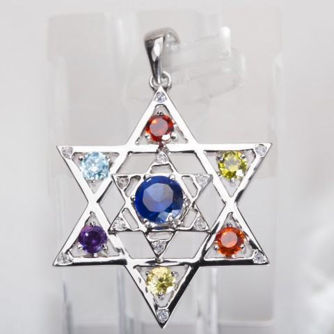 7-WG2216-Yeshua-The-Bright-and-Morning-Star-White-gold-Diamond-Gem-simulant1
