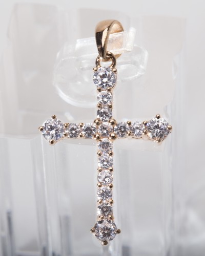 2) RG556 - Rose of Sharon (Rose gold - Diamond simulant)